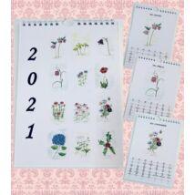 Névnapos naptár: Virágok (A5)