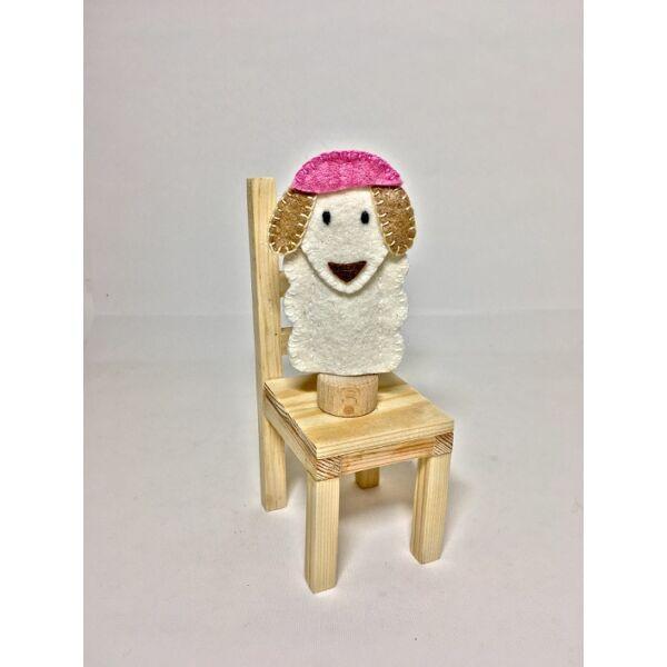 Ujjbáb: bárány (Gyapjú anyó)