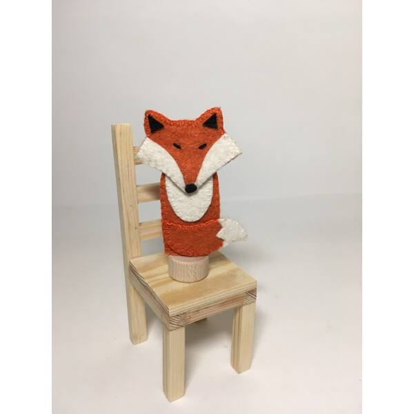 Ujjbáb: róka (Szergej)